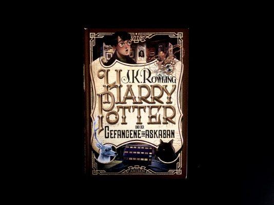 Buchtipp Harry Potter und der Gefangene von Askaban Buchcover