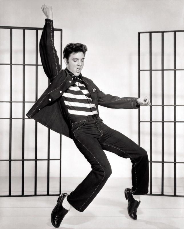 Elvis Presley tanzt - eine Form von gelebtem Storytelling