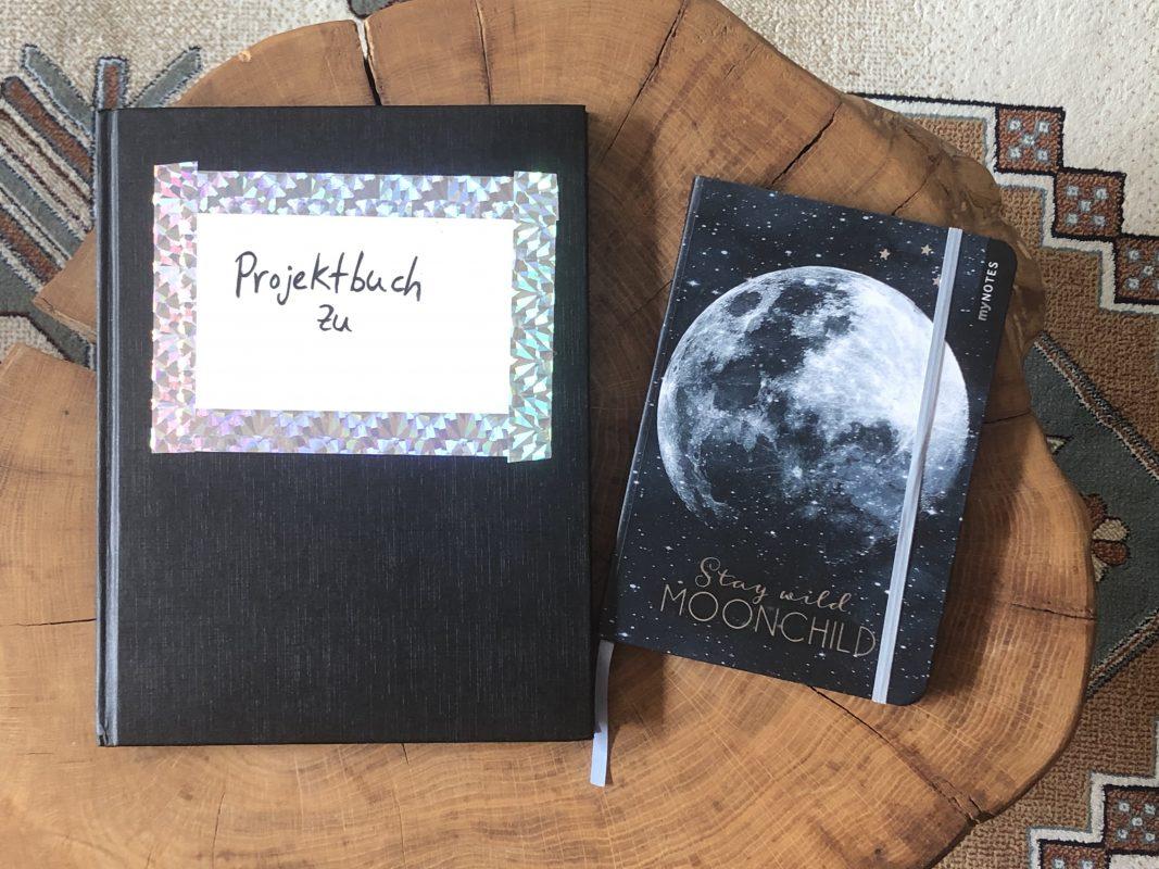 Beispiel von Projektbüchern zum Geschichten Schreiben
